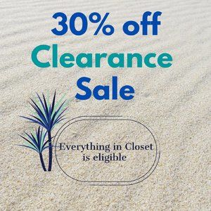 Tops - Summer Clearance Sale 30% Off Everything